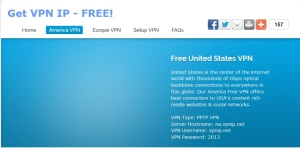 VPNIP - бесплатный VPN сервис