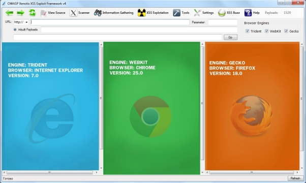 OWASP Xenotix - удобное средство поиска xss