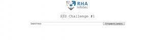 XSS challenge