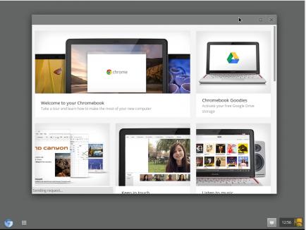 Установленная Chrome OS на VirtualBox