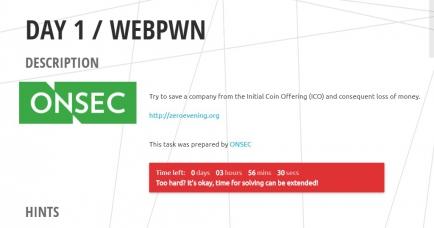DAY 1 / WEBPWN
